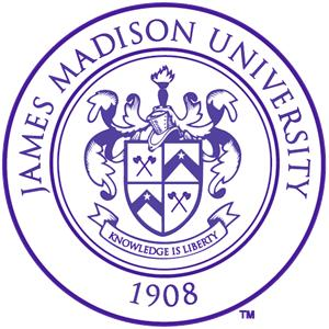James Madison University logo.