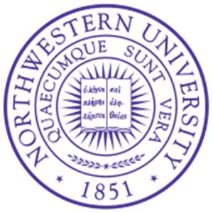 Northwestern University logo.
