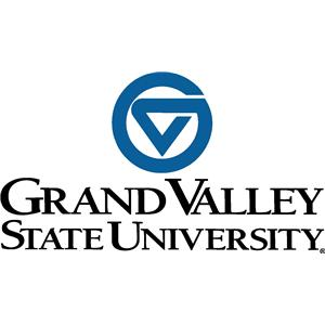 Grand Valley State University logo.