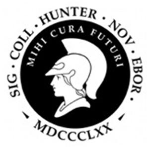 CUNY, Hunter College logo.