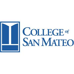 College of San Mateo logo.