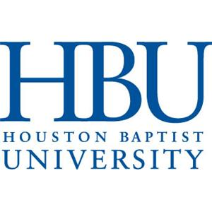 Houston Baptist University logo.