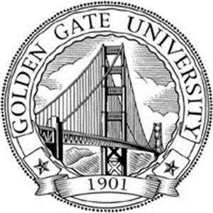 Golden Gate University logo.