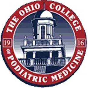 Ohio College of Podiatric Medicine logo.