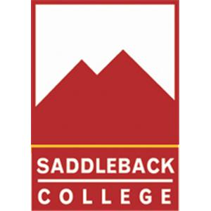 Saddleback College logo.