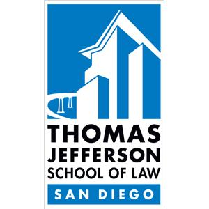 Thomas Jefferson School of Law logo.