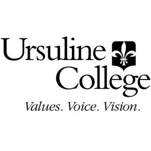 Ursuline College logo.