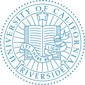 University of California, Riverside logo.