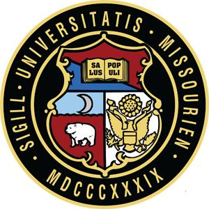 University of Missouri, Columbia logo.