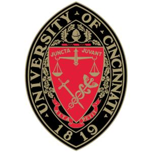 University of Cincinnati logo.