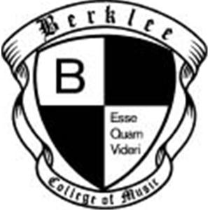 Berklee College of Music logo.