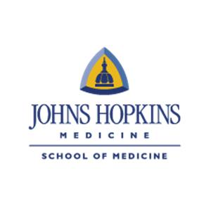 Johns Hopkins Medical School logo.