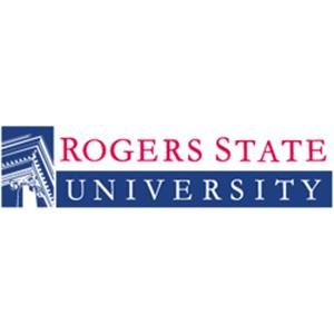 Rogers State University logo.