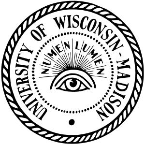 University of Wisconsin Madison logo.