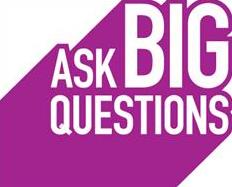 Ask Big Questions logo.