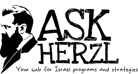 Ask Herzl Logo.