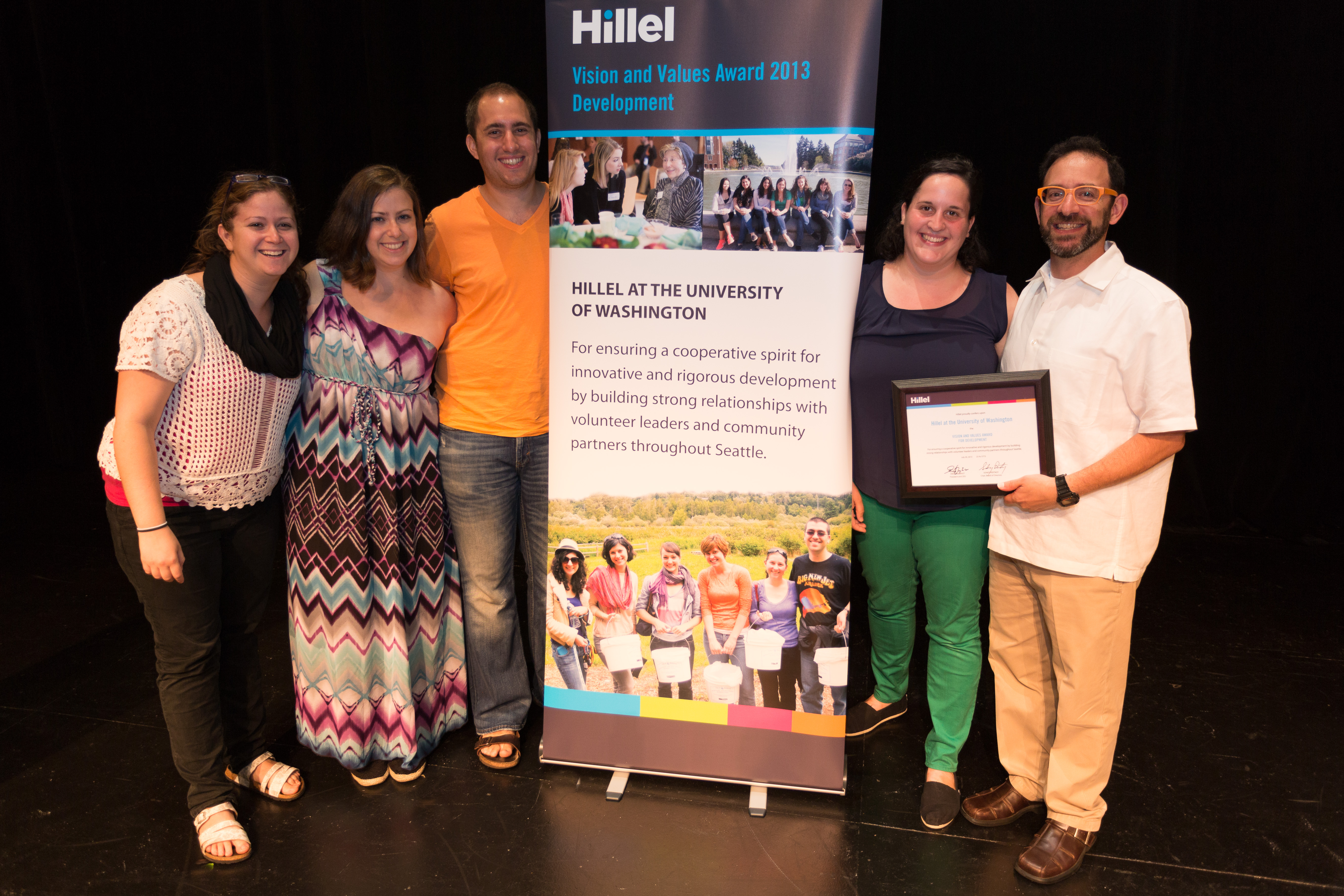 Vision & Values Winner University of Washington Hillel