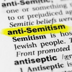 A dictionary open to the term antisemitism