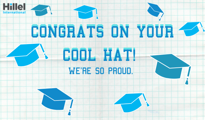 congrats on your cool hat we're so proud of you