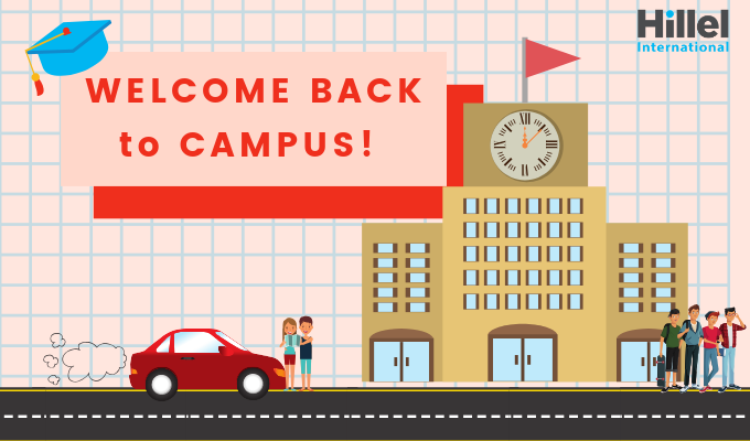 welcome back to campus pink ecard