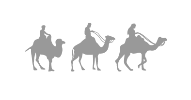 infographic figure camels.