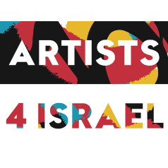 Artists 4 Israel logo.