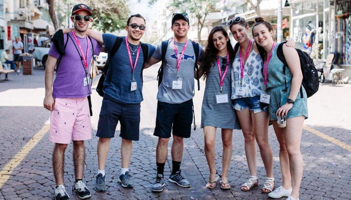 Students on Birthright